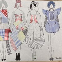 Also shown under: Comme Des Garçons Inspired Collection