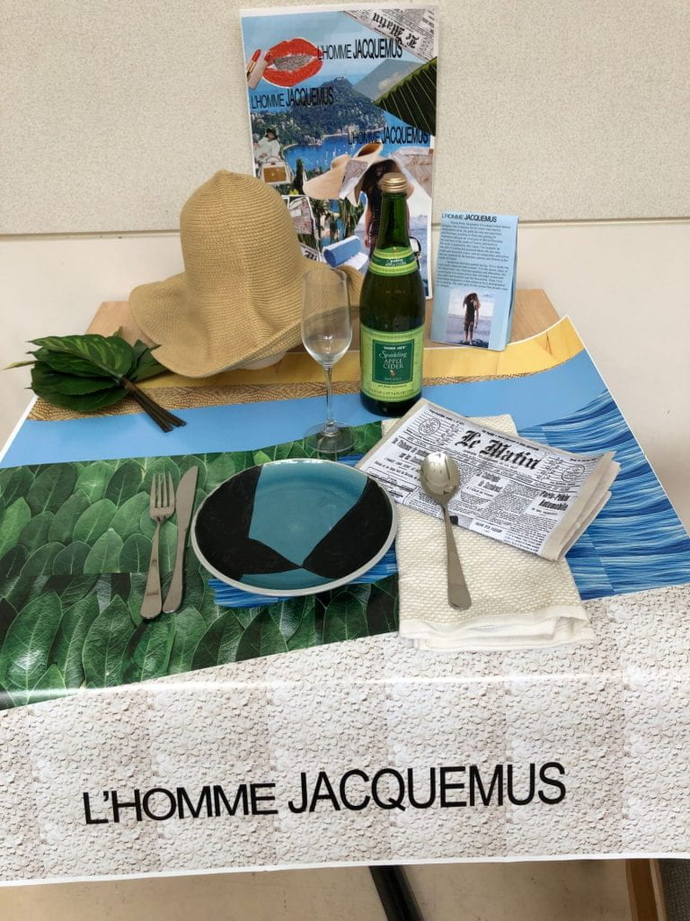 Jacquemus Place Setting: Using Illustrator and Photoshop