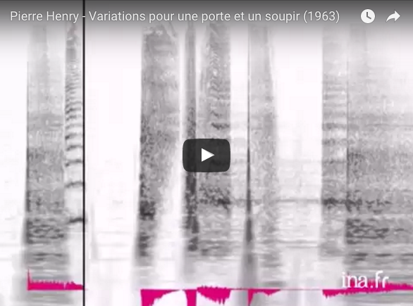 Pierre Henry – Variations for a door and a sigh (1963)