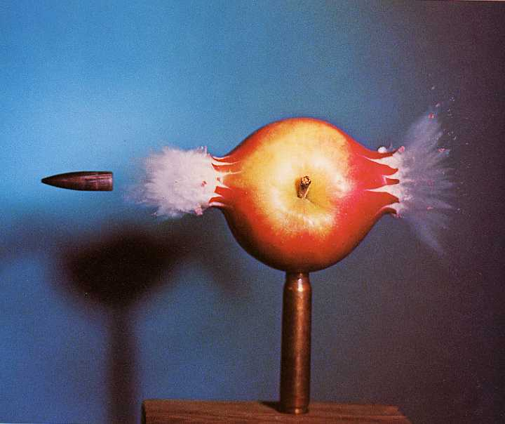 Harold Edgerton and slow motion and high speed photography