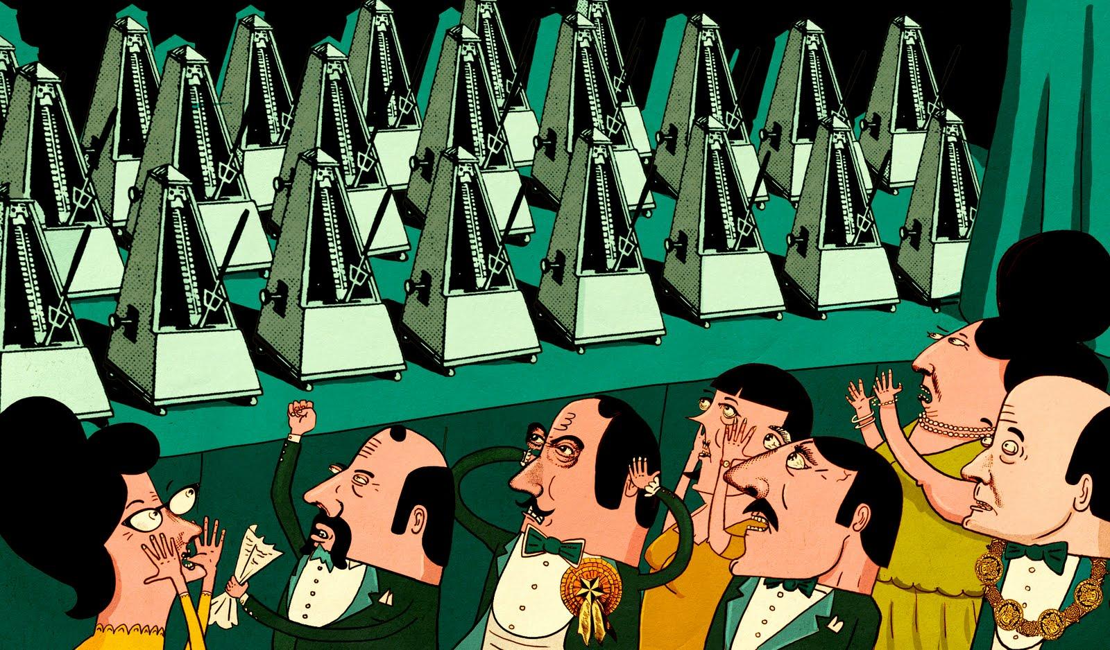 Gyorgi Ligeti – Poeme Symphonique For 100 Metronomes