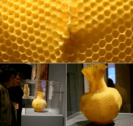 The Honeycomb Vase –  Tomás Libertíny