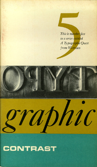 Typography and Layout – Type contrasts, grids, etc
