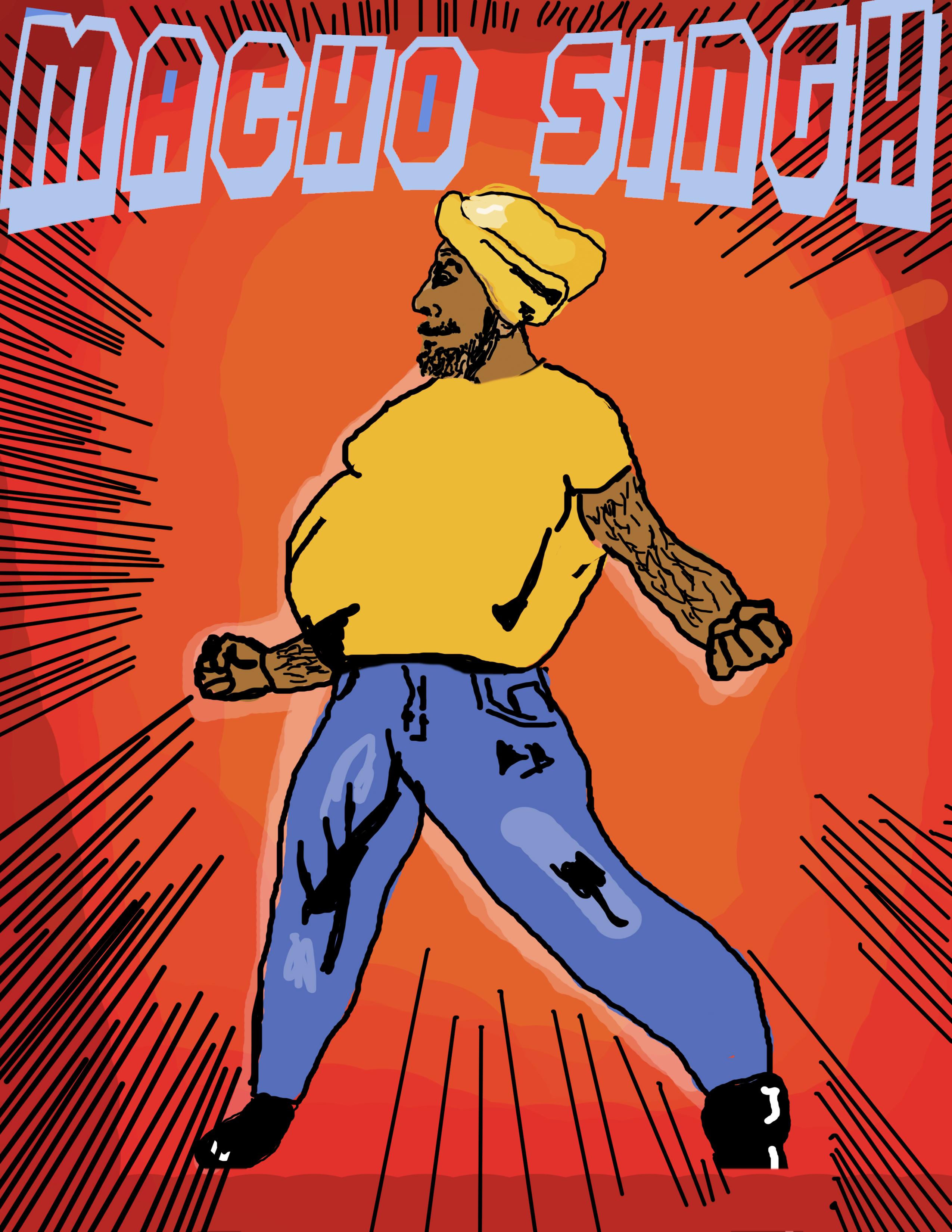 Macho Singh (Comic Book)