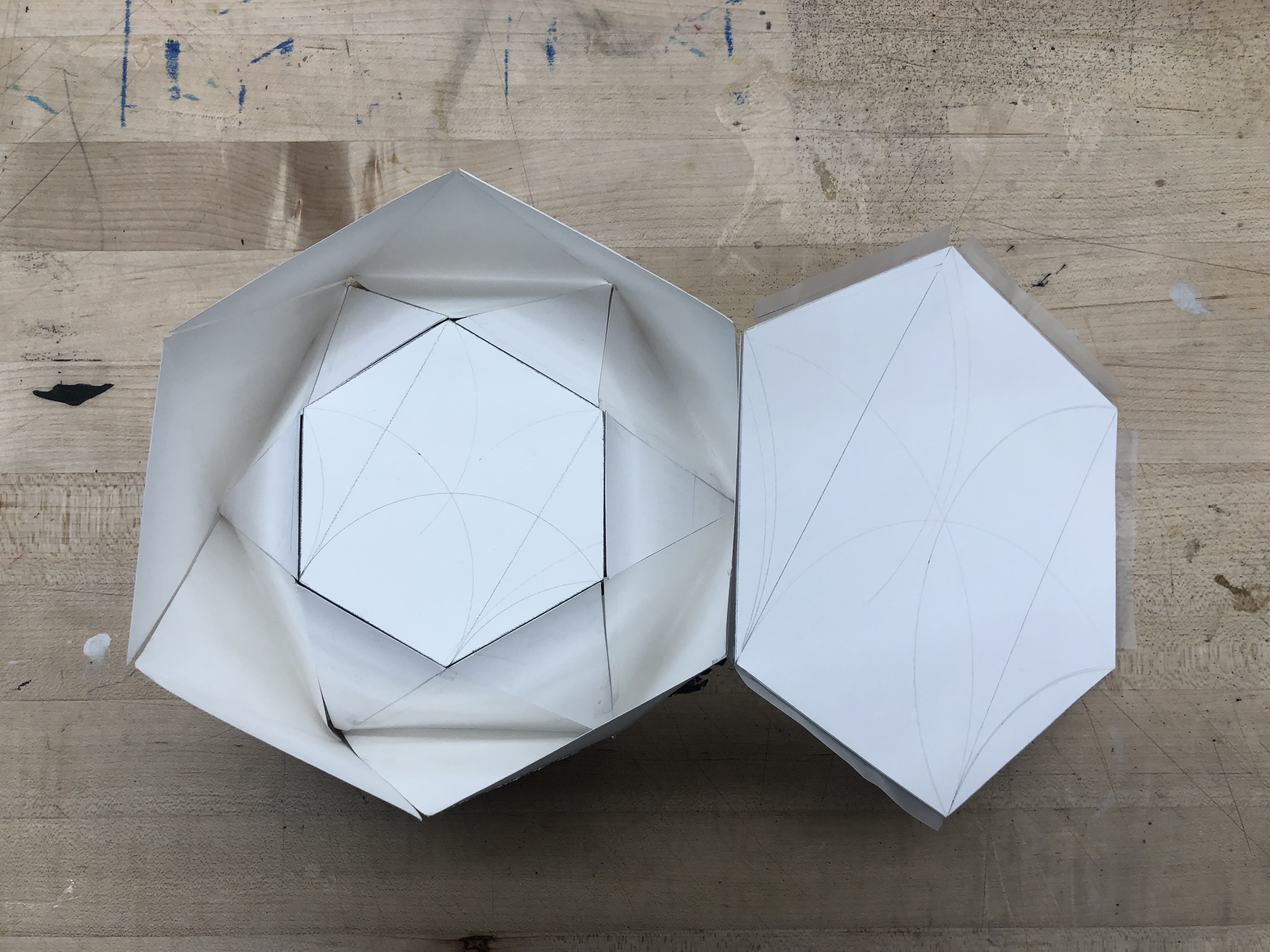 Space: paper model projects