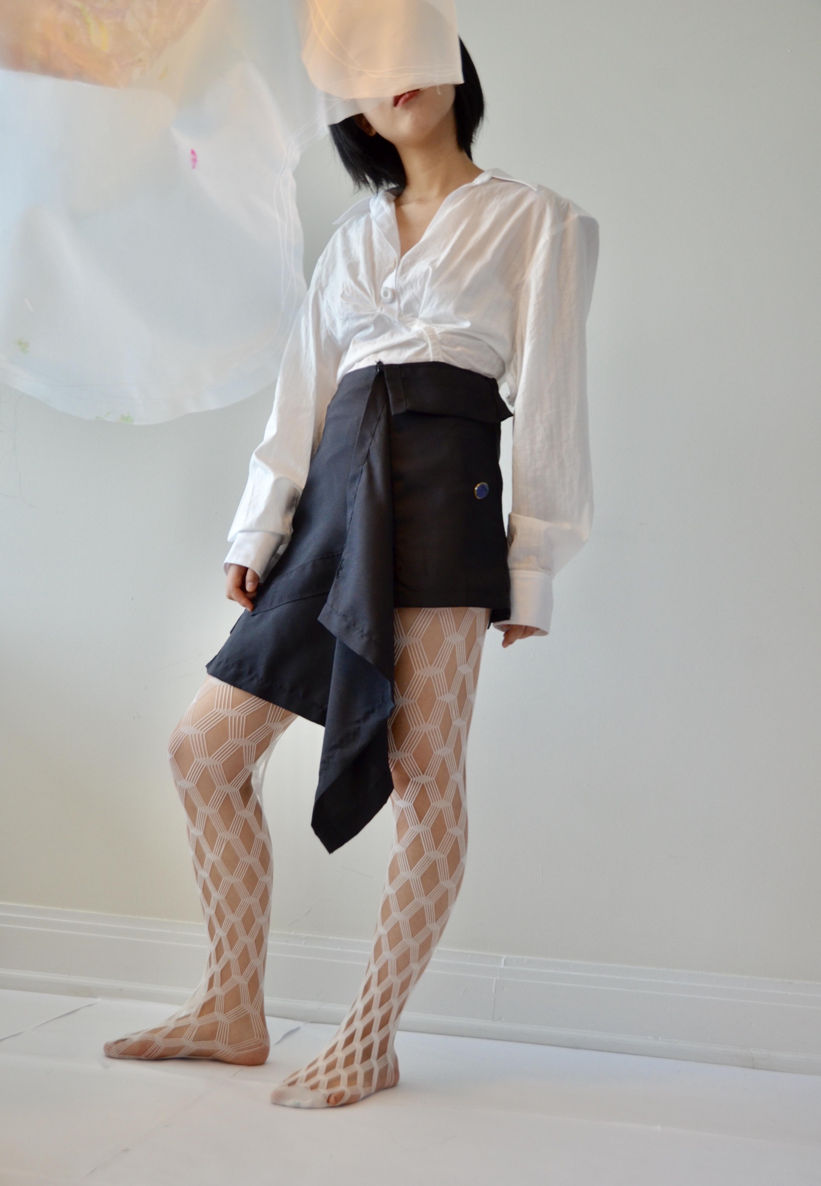 Soft Structure: Zero-waste garment