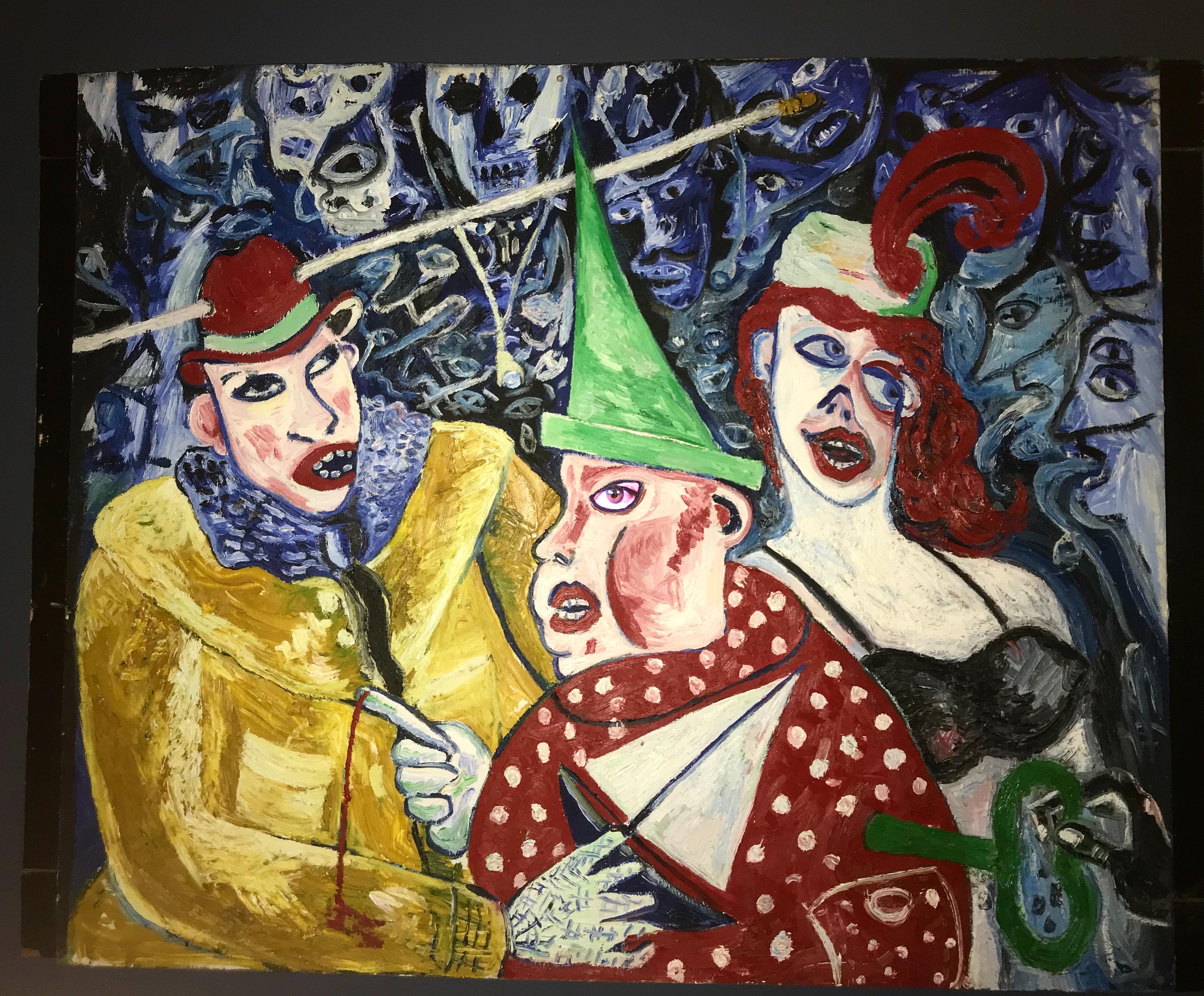Artwork Analysis:The Lingerie Family (Club 57 Exhibition)