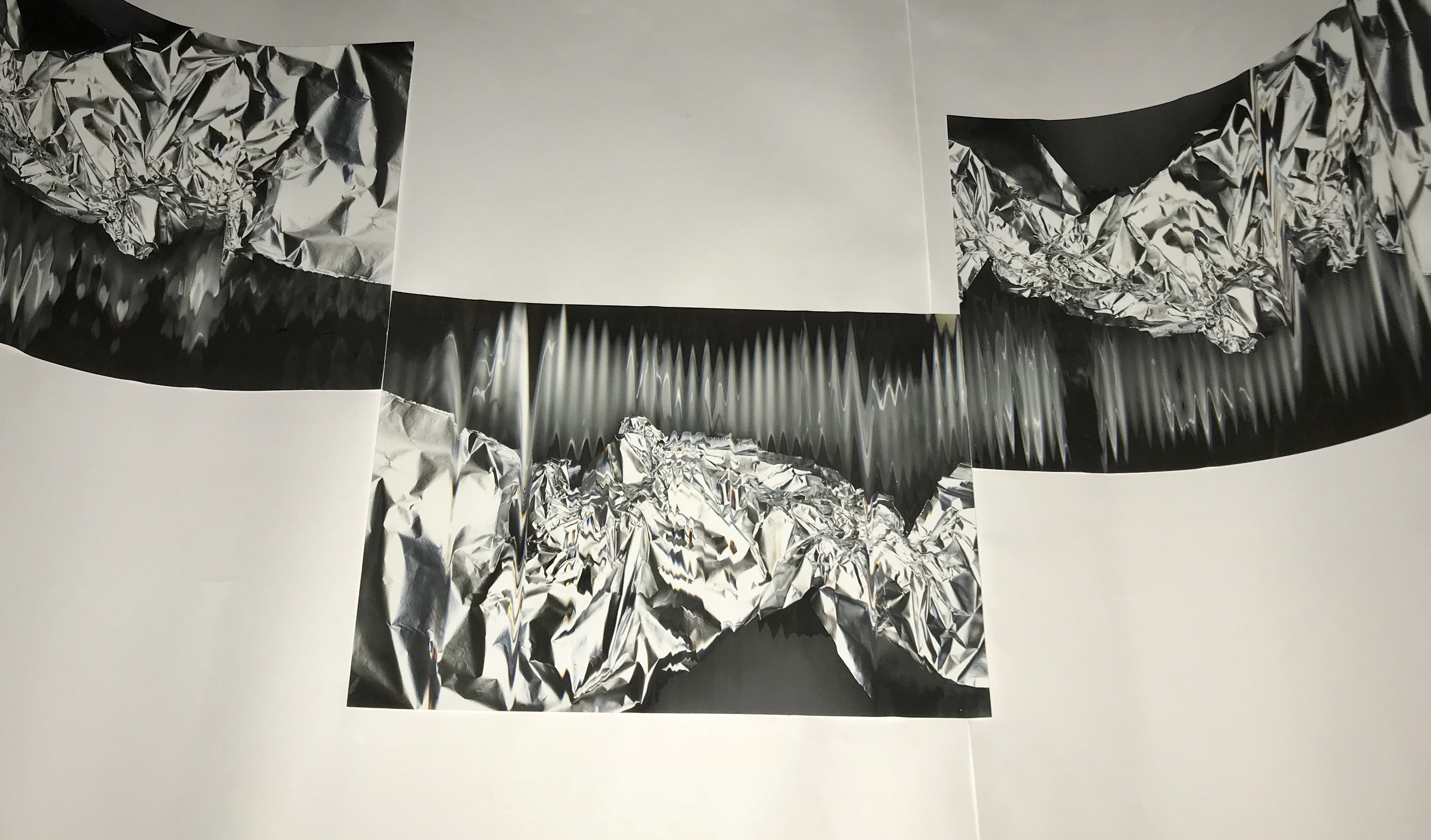 Scanography (Triptych)