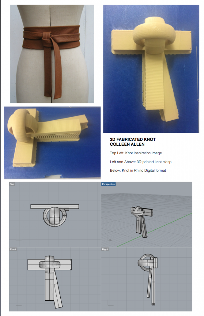 3D Printed Knot