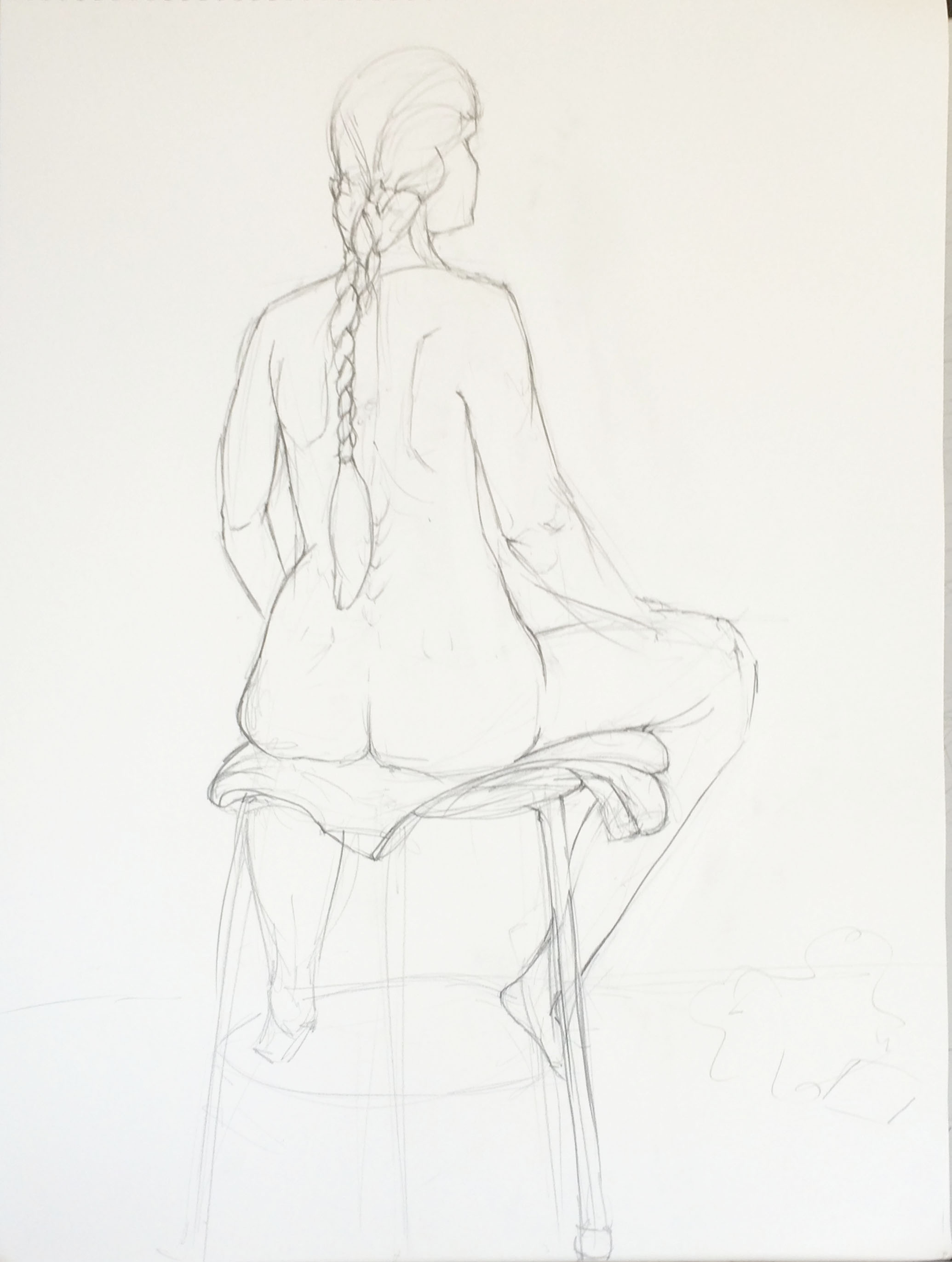 Figure Drawing: Catherine