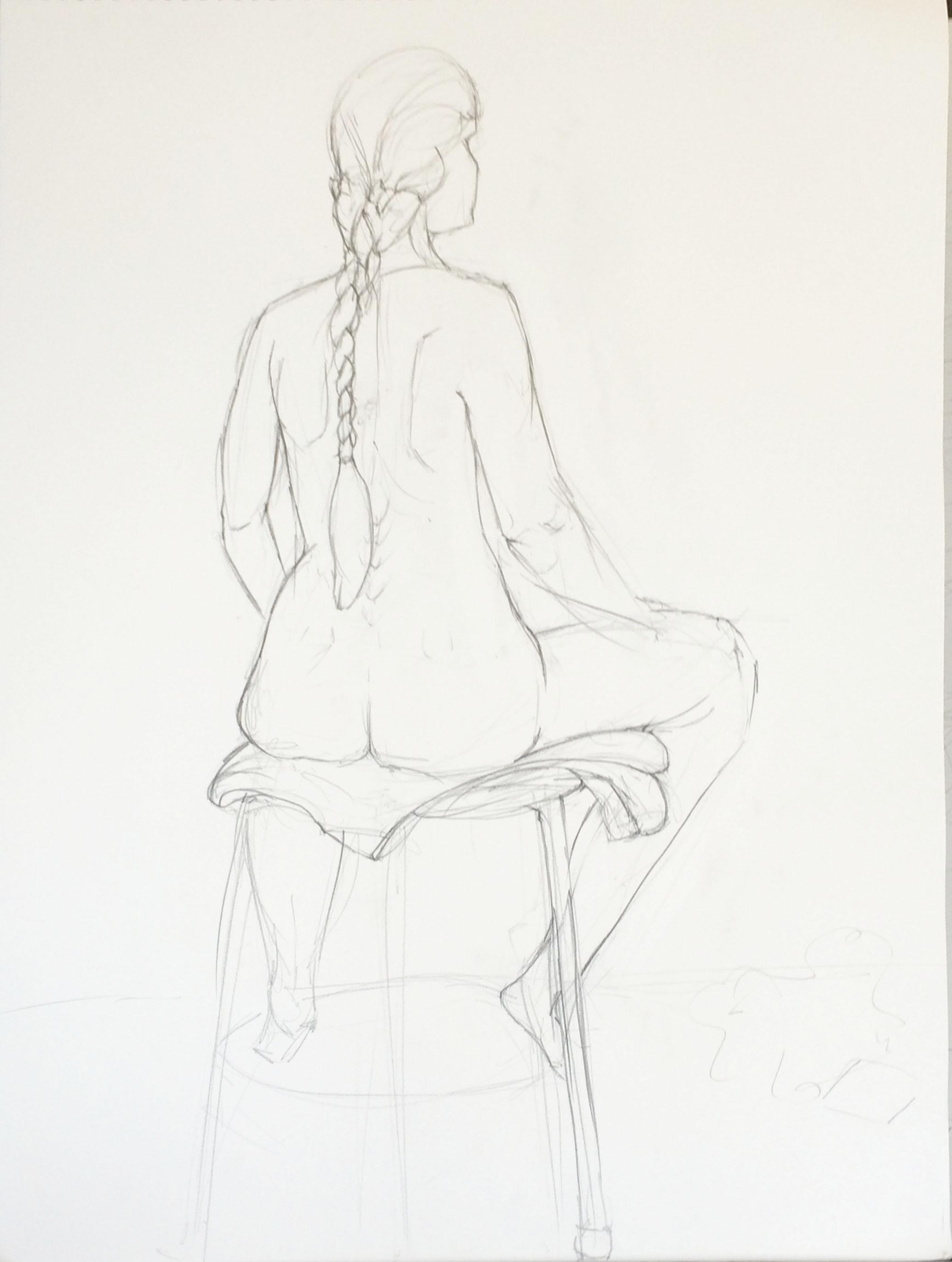 Figure Drawing: Catherine