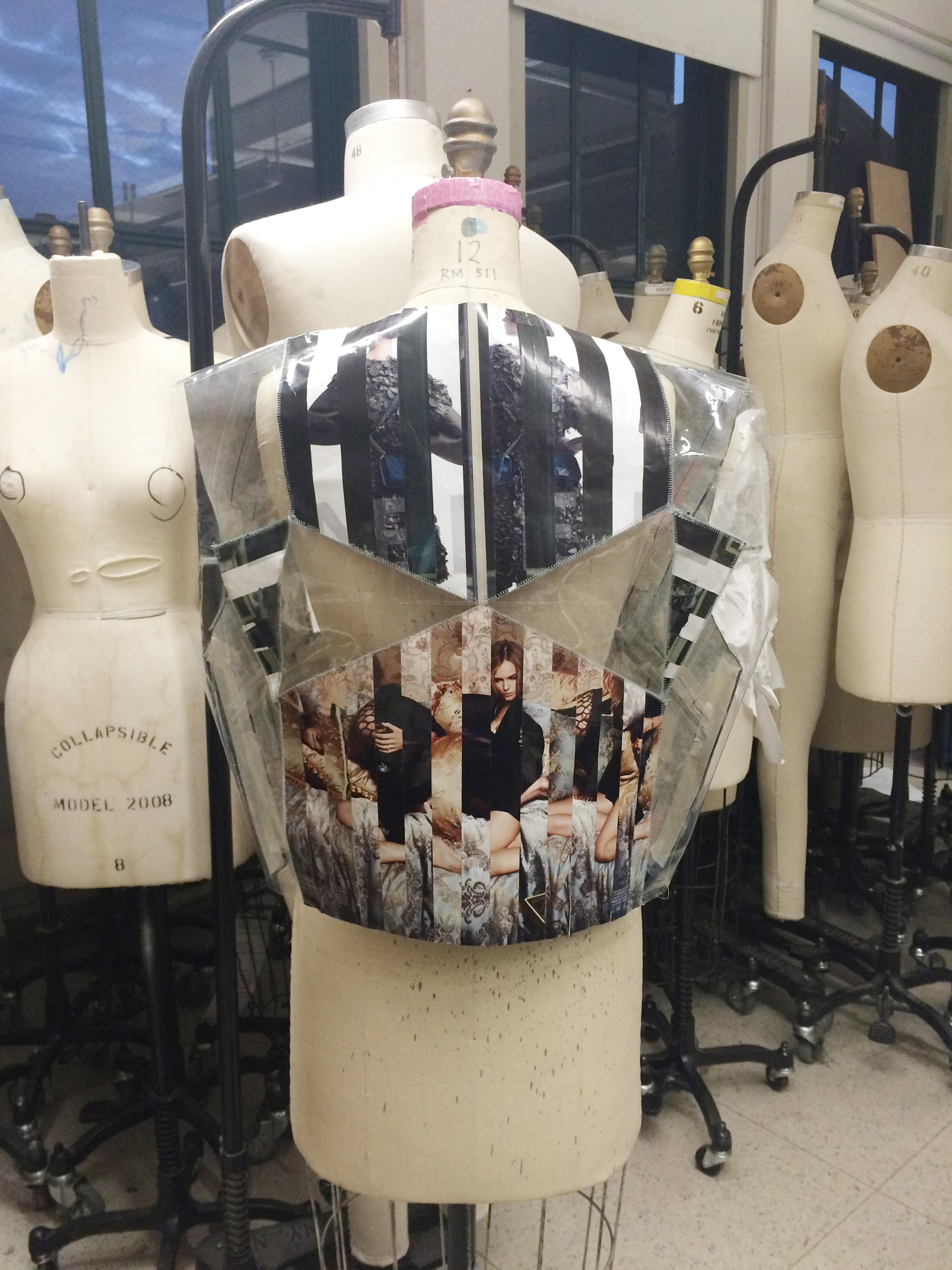 Unconventional Materials Garment: Vest