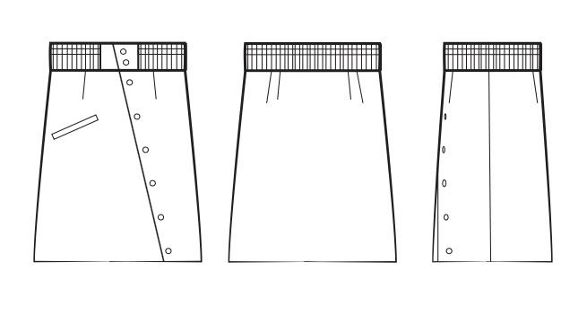 Skirt Flats