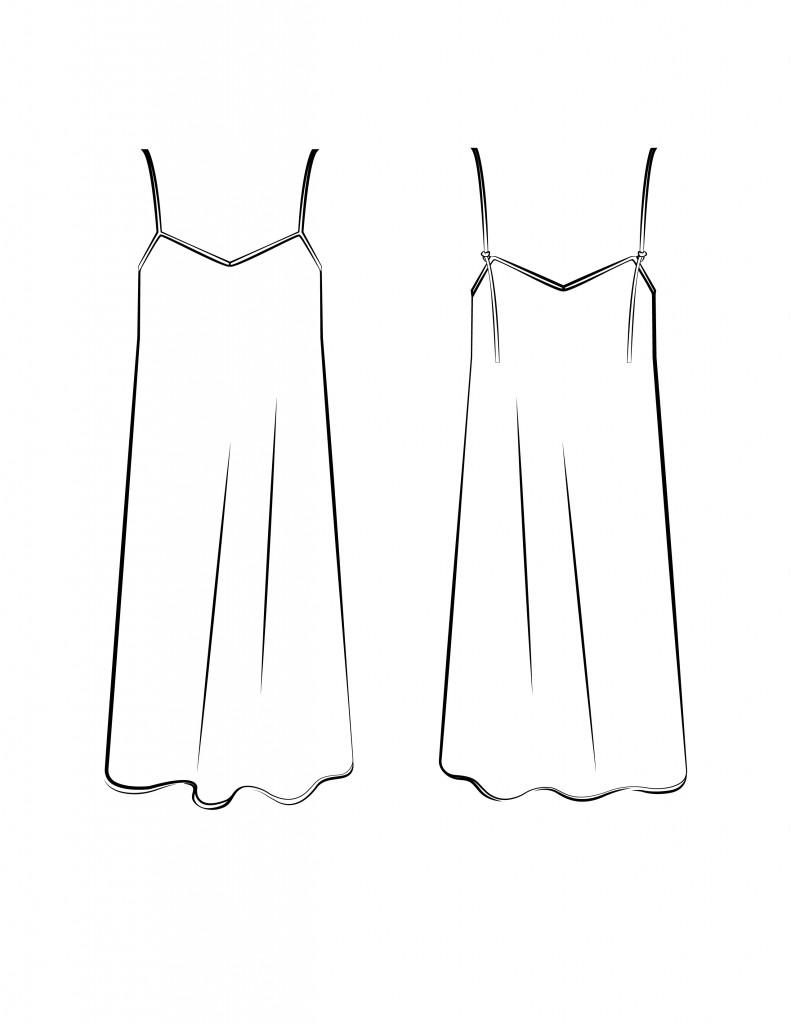 Dress Flat-01