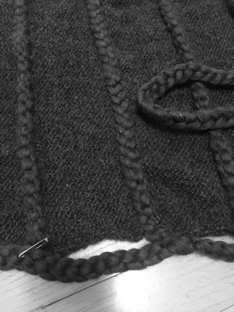 Stitching rope