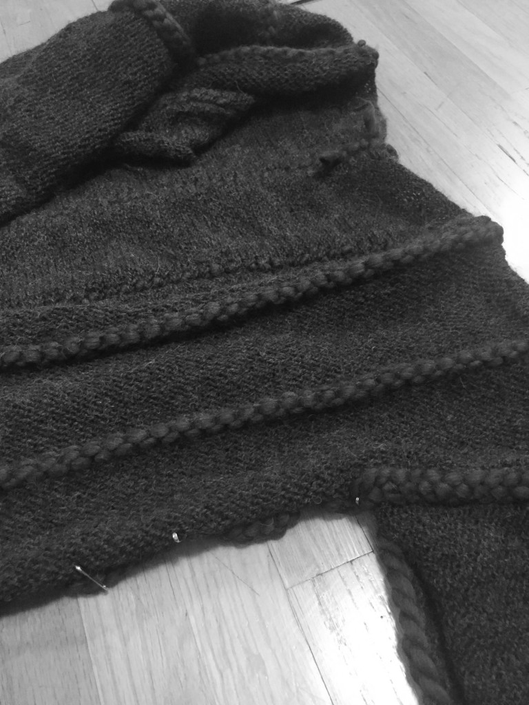 Stitching sides