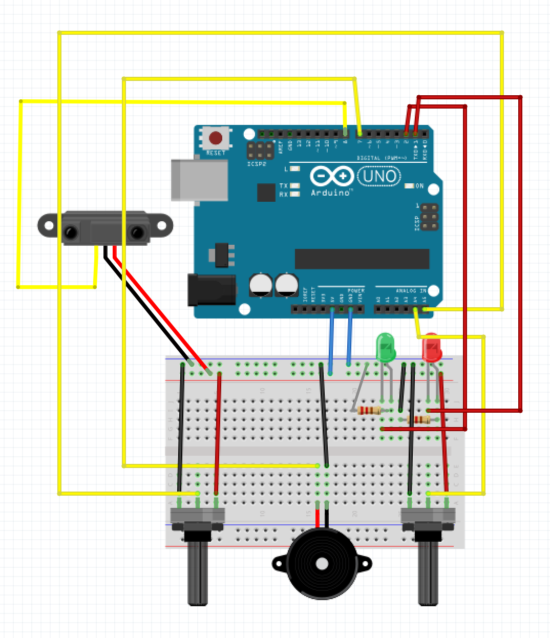 Pir Motion Sensor Game Gentry Demchaks Blog Diagram Circuit