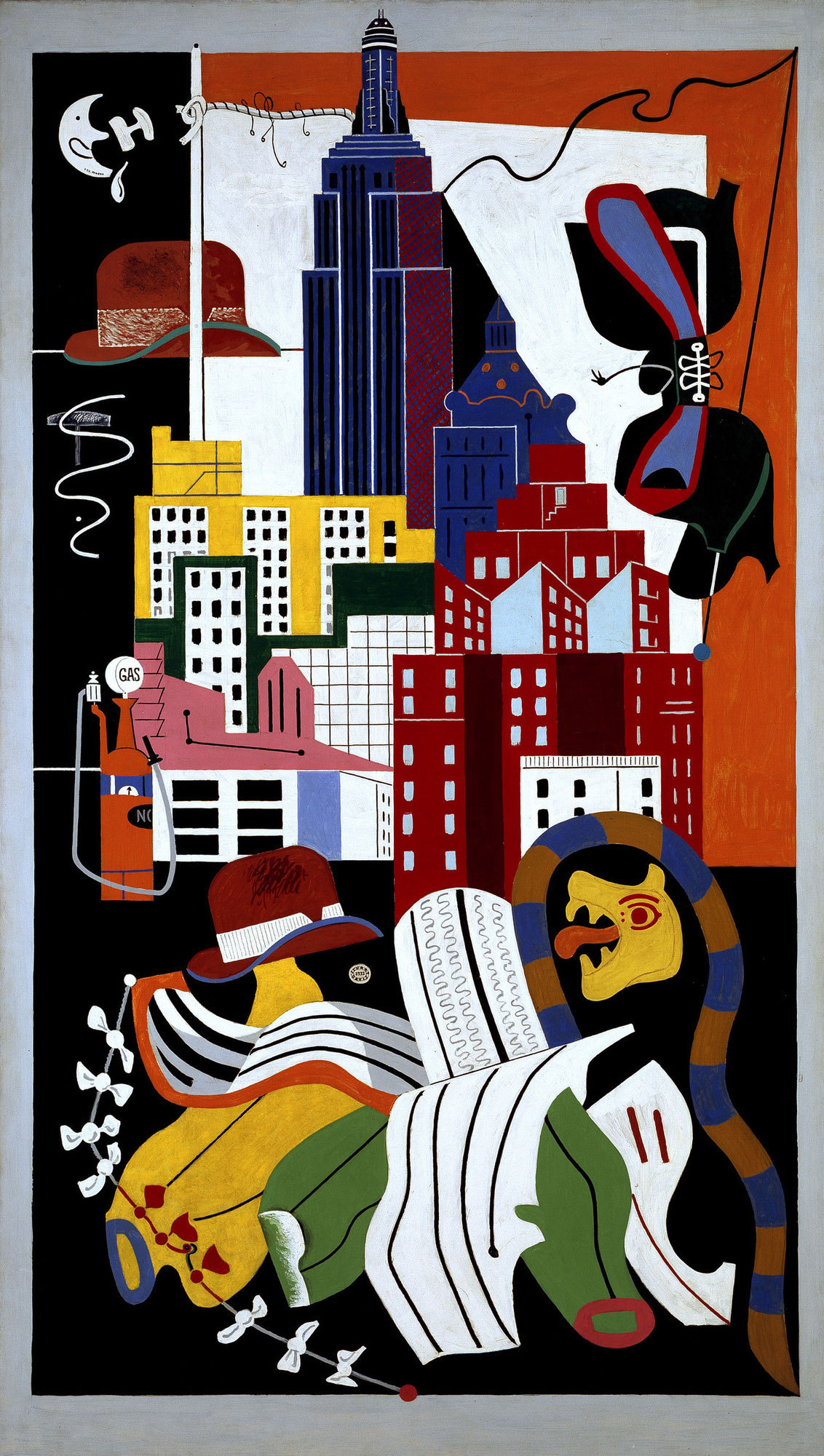 Drawing/Imaging: Whitney Museum HW –  How did Stuart Davis communicate PLACE in abstract paintings?