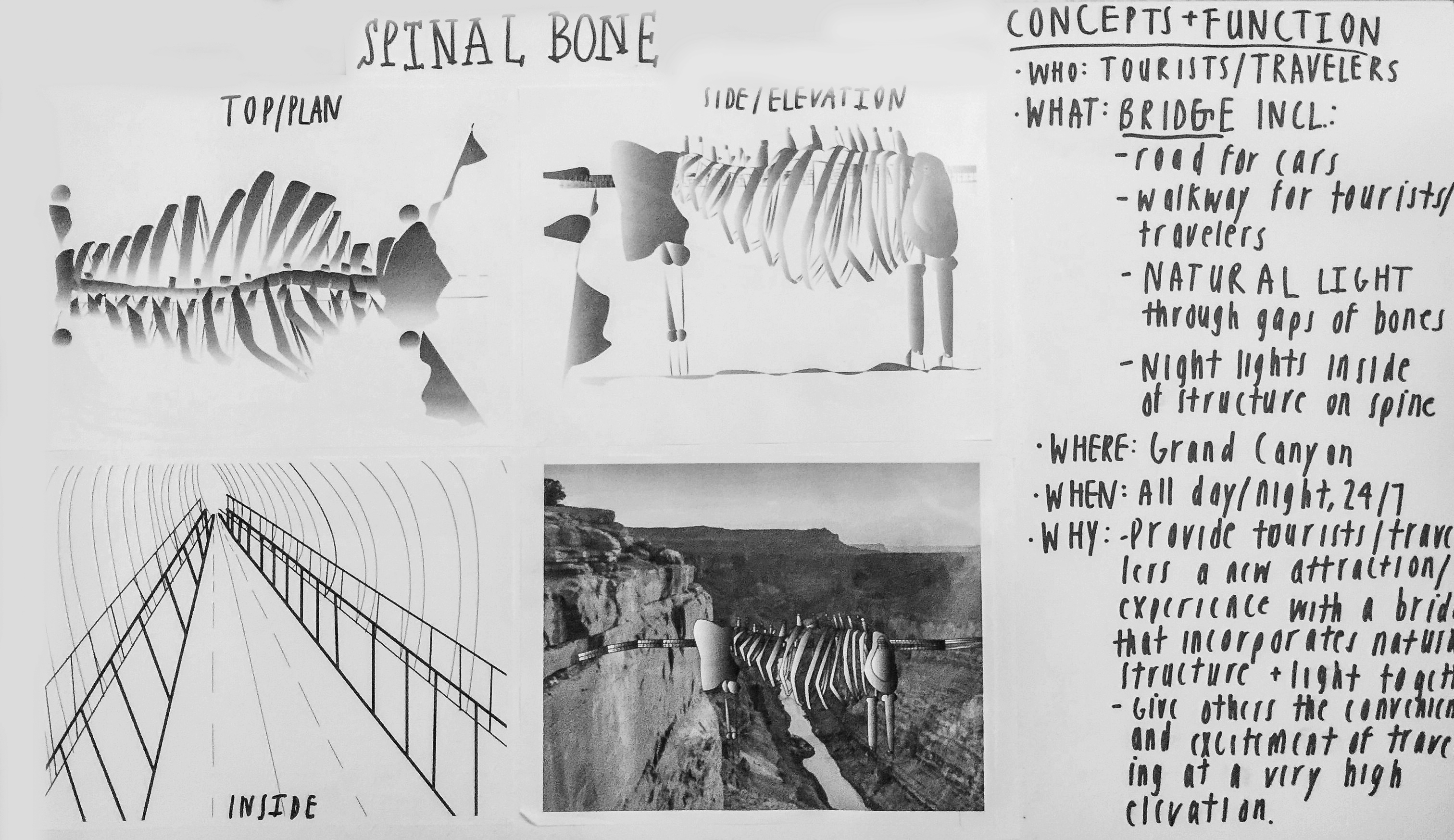 Drawing/Imaging: Places – LP Post/ Anatomy + Architecture Research