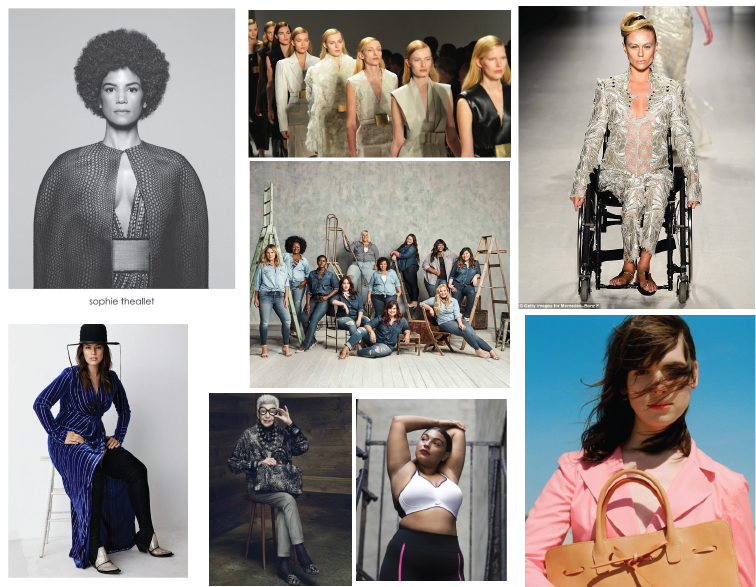 Integrative Seminar 2: Visual Essay – Diversity on the Runway/In Fashion