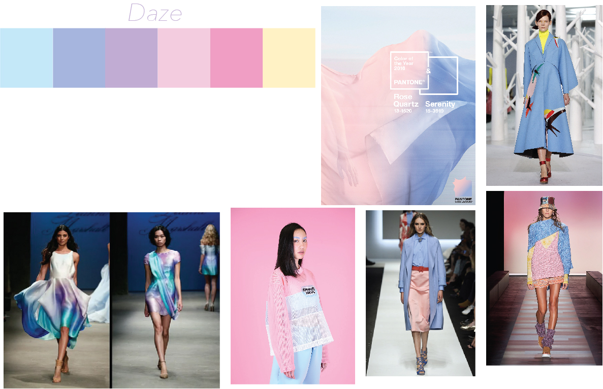 Integrative Studio 2: Fashion – Project Submission Color Palette and Textile Board