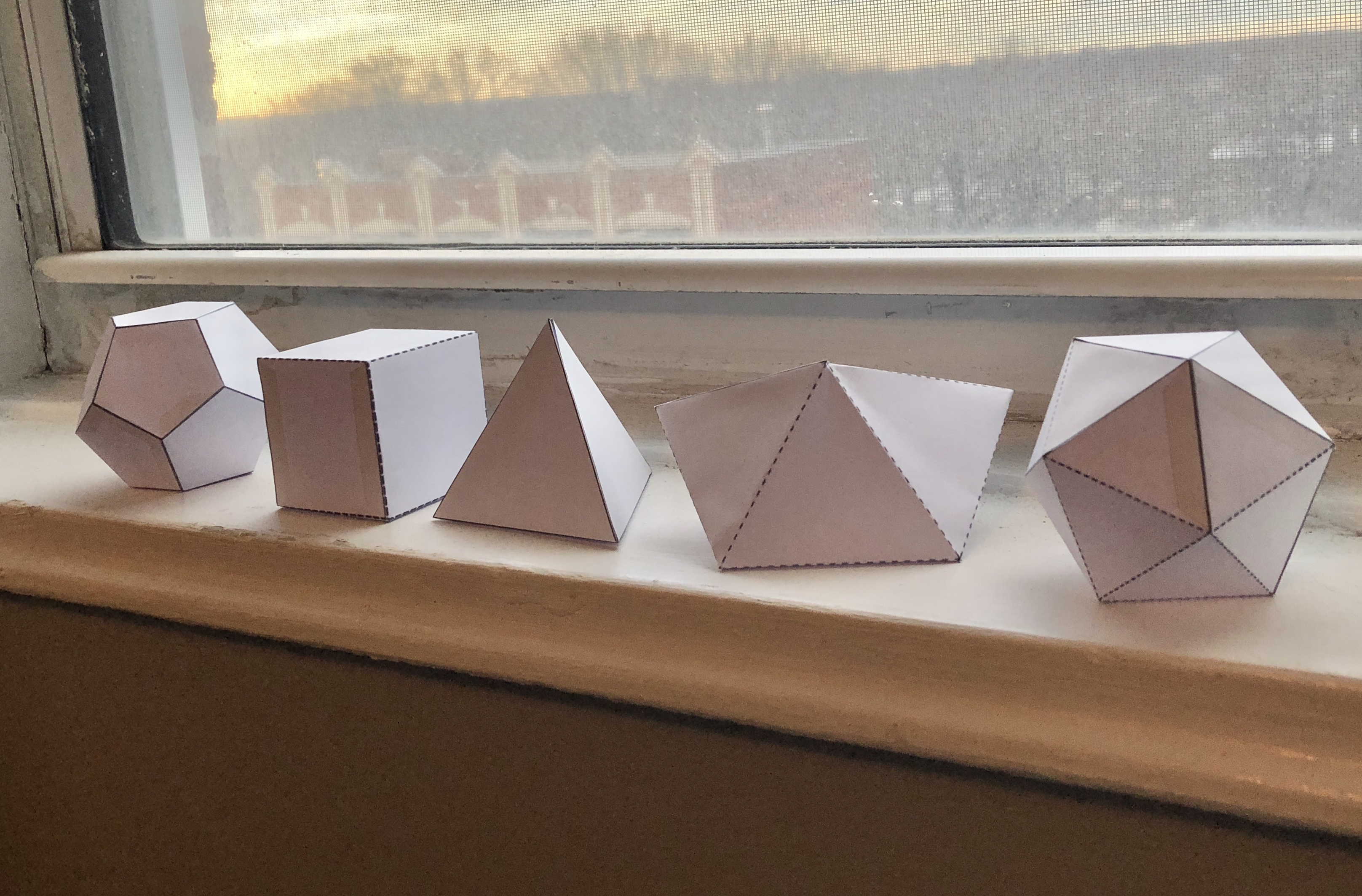 paper polyhedrons