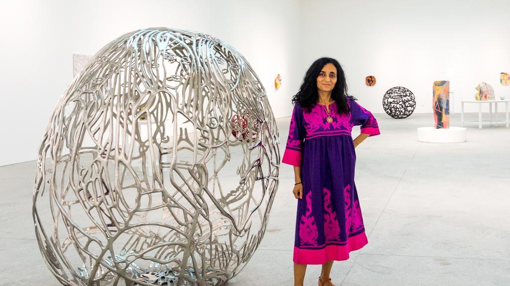 Ghada Amer, Feminist Provocateur