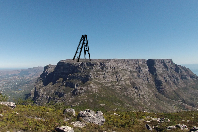 Orthographic Drawings: Ladder on Table Mountain