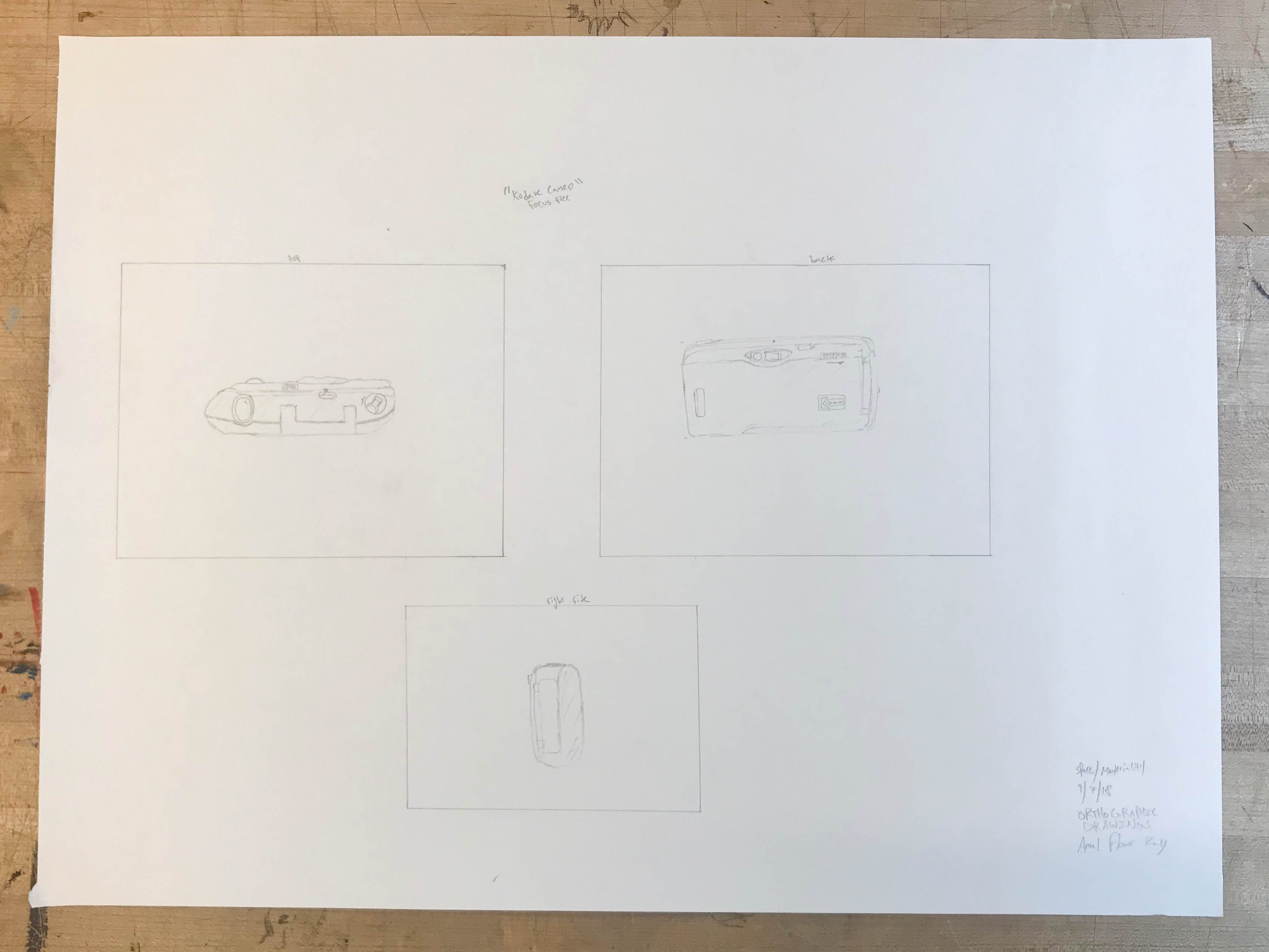 Orthographic Drawings: Reflection