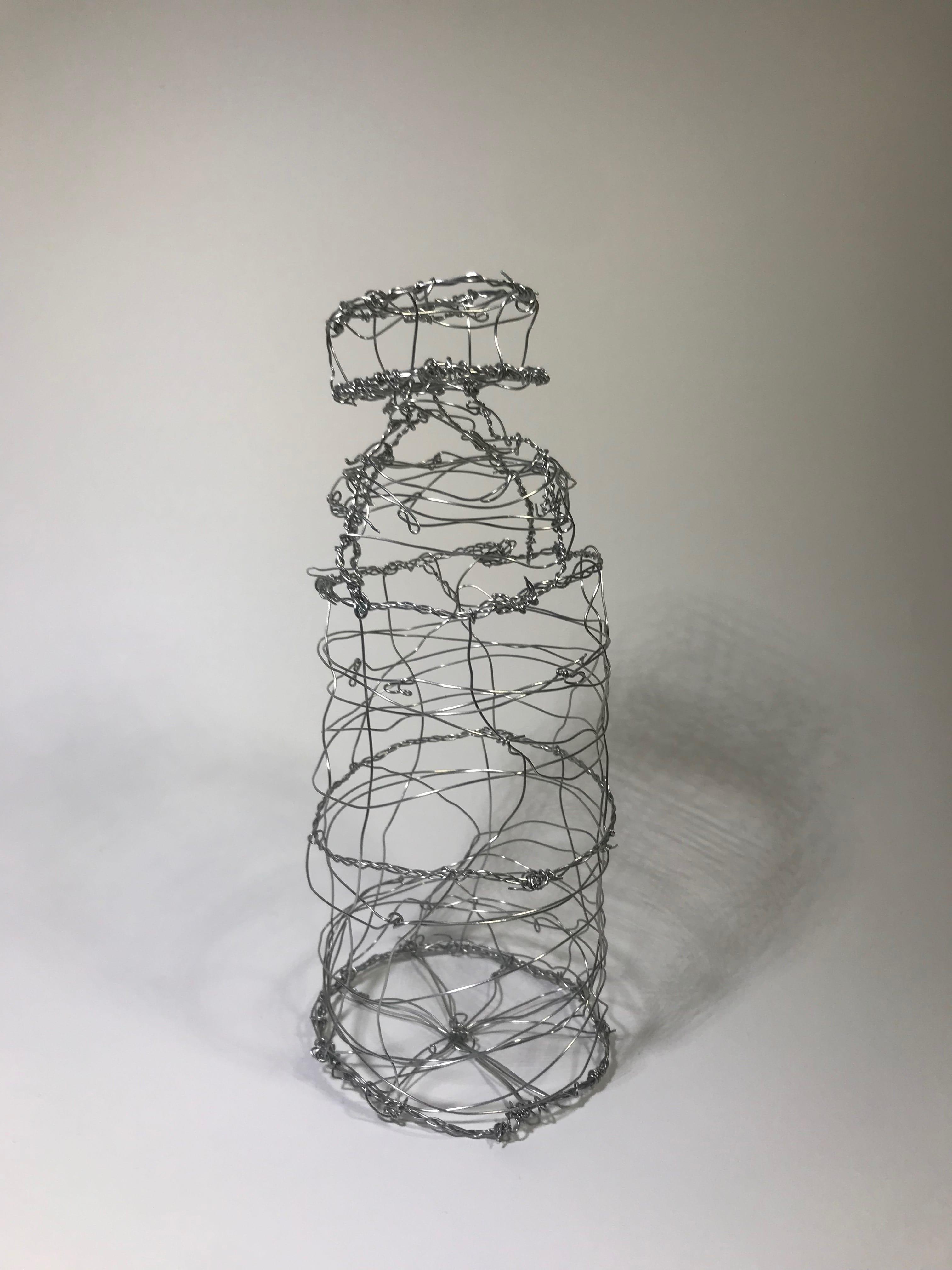 3-D Wire Object: Water Bottle