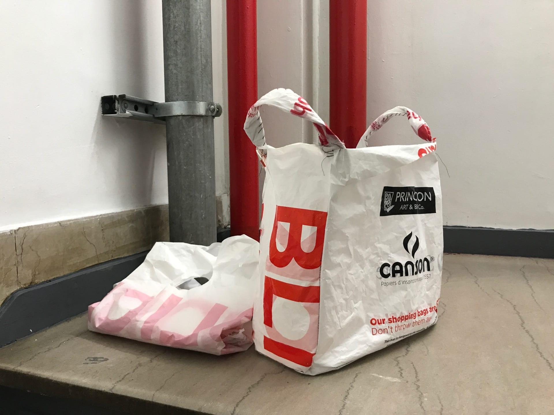 Upcycled Plastic Bag