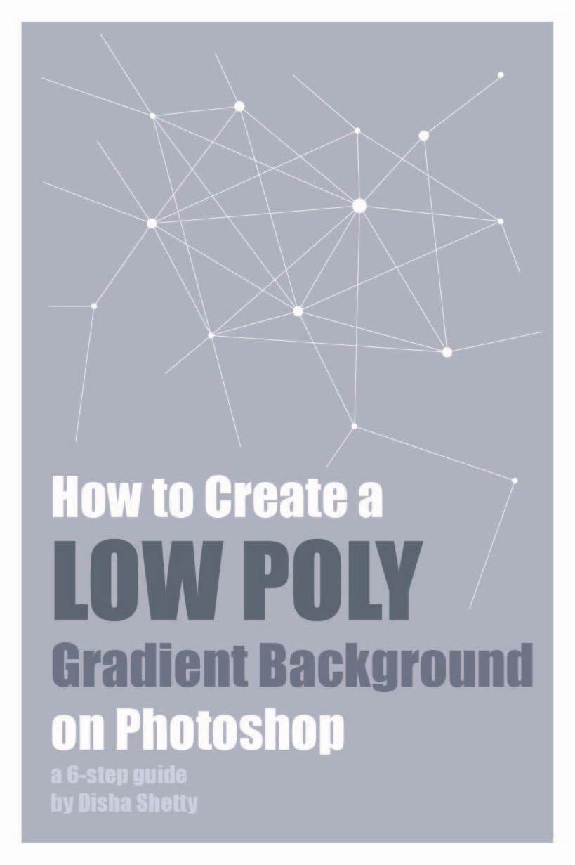 Skill Share: 6-Step Guide to Making a Low Poly Gradient Background