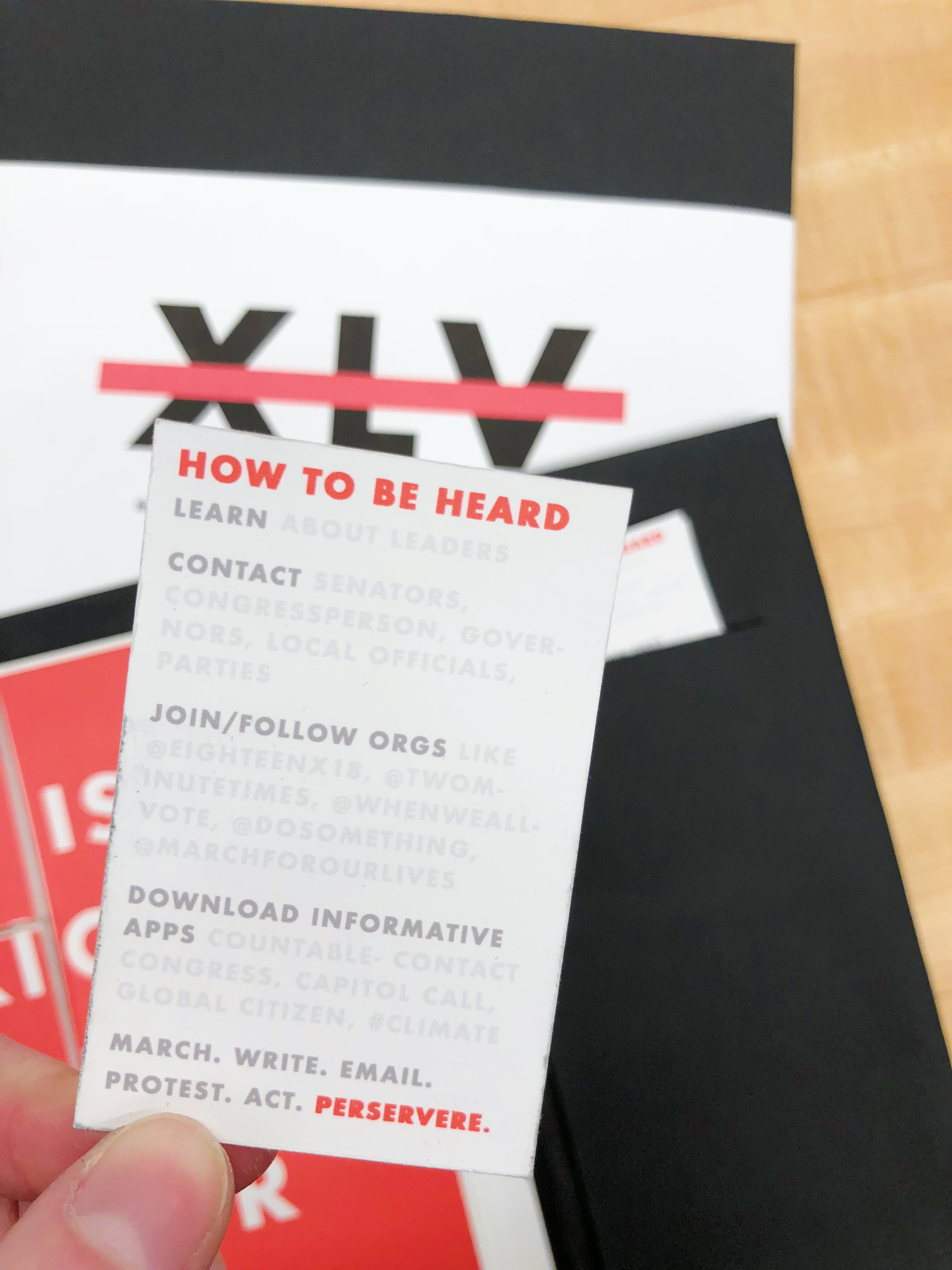 XLV: The destruction of the presidency + the rise of your voice: all from 725 Fifth Ave