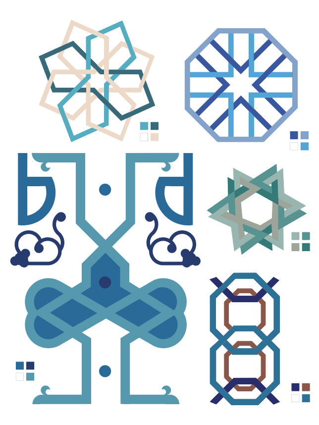 Geometric Shapes and Patterns: Illustrator project 2