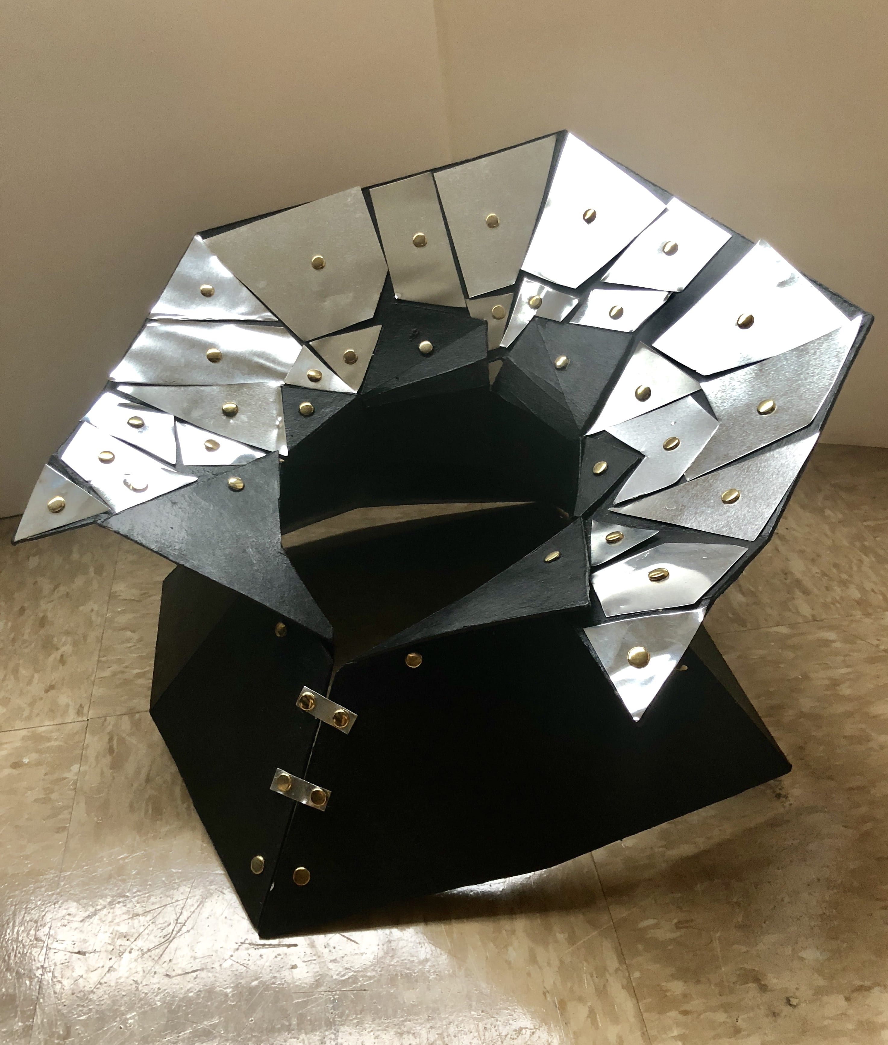Space & Materiality: Project #2: Platonic Solids Body Extension: Final Form