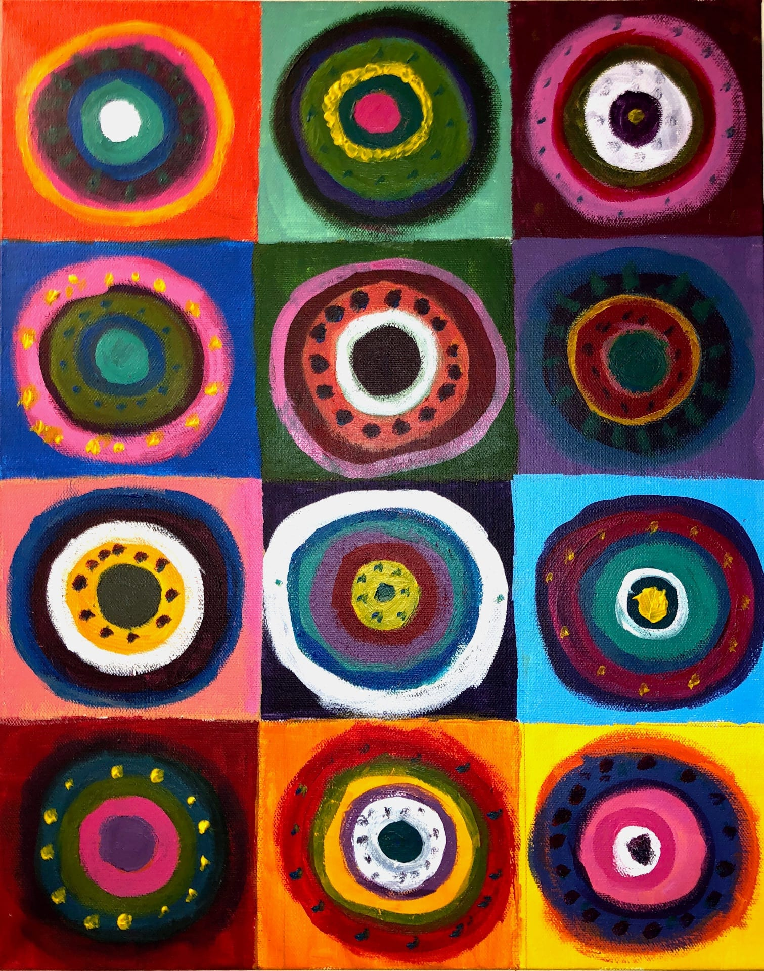 Drawing/ Imaging: Kandinsky Circles