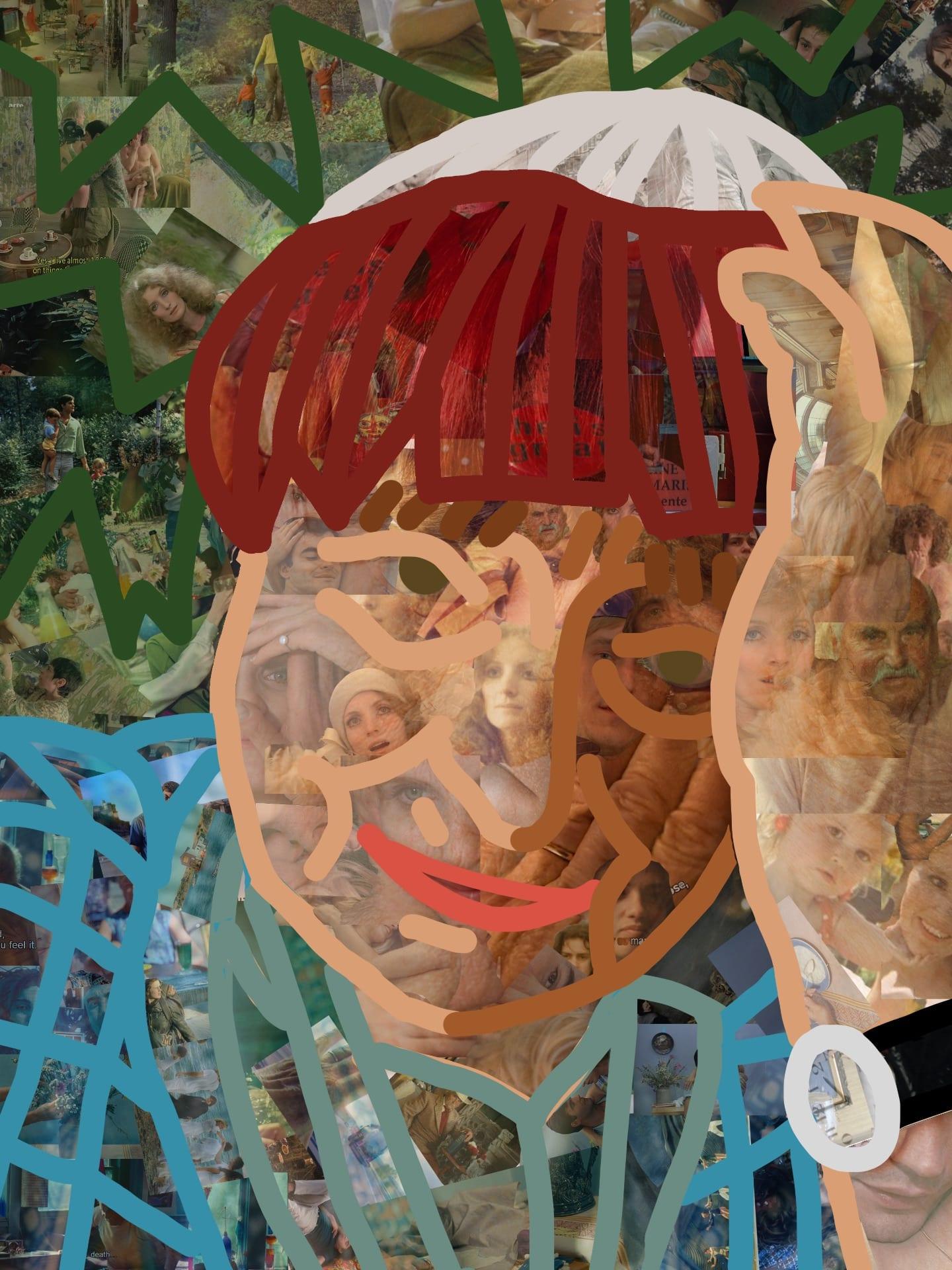 Drawing/ Imaging: Collage Portrait (Agnes Varda)