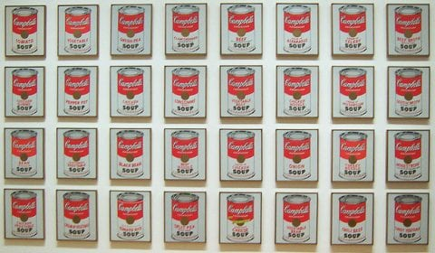 Andy Warhol, Mechanical Reproduction