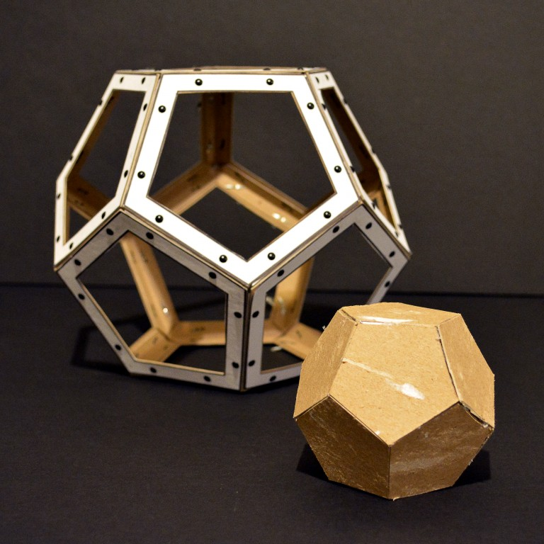 Mini Assignment – Chipboard Dodecahedrons and Cup