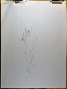 11/10/16 - 1 minute pose