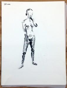 9/29/16 - 20 minute pose