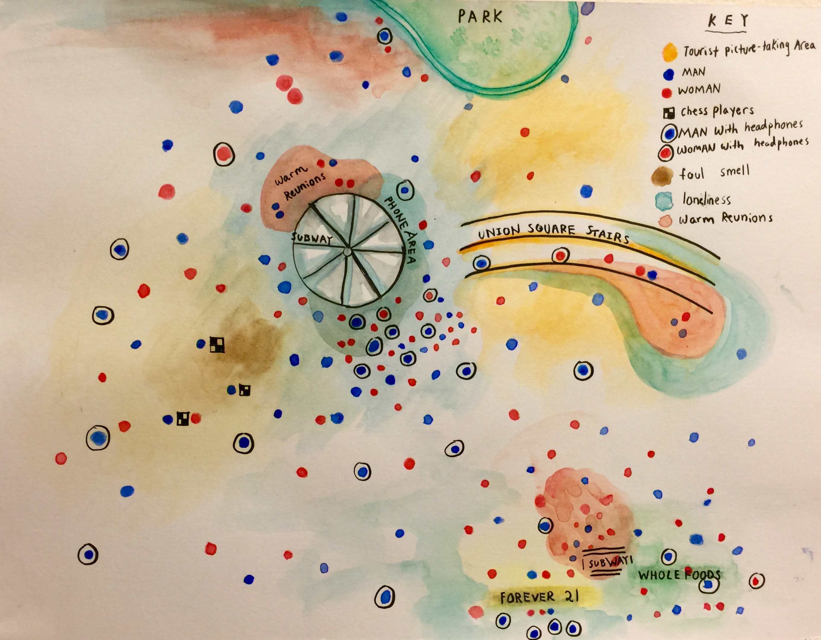Sensory Map