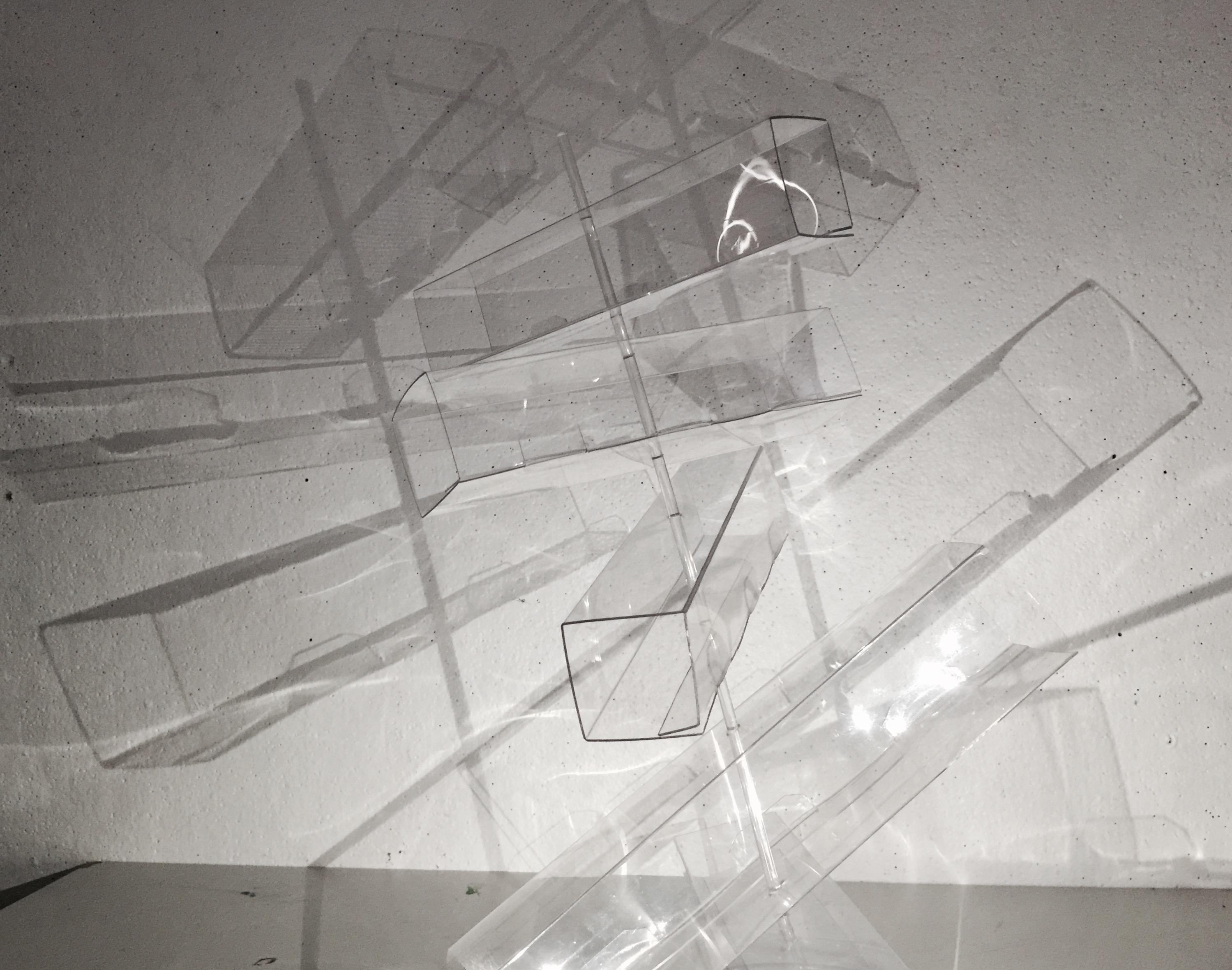 Space/Materiality(Carol Peligian): Multi-Way Transparent Bridge