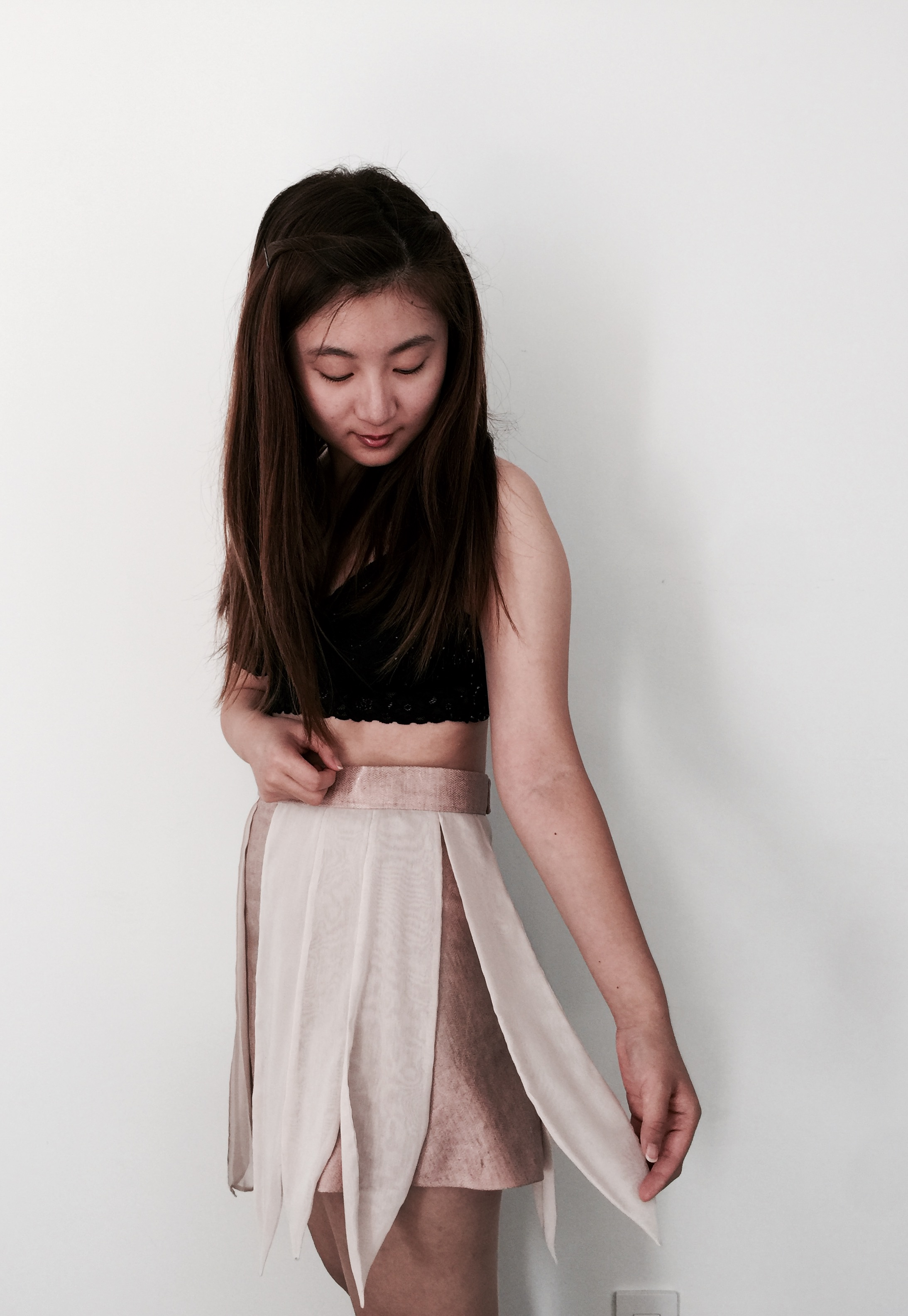 Original Skirt Design Process + Basic Finished Skirt Photos