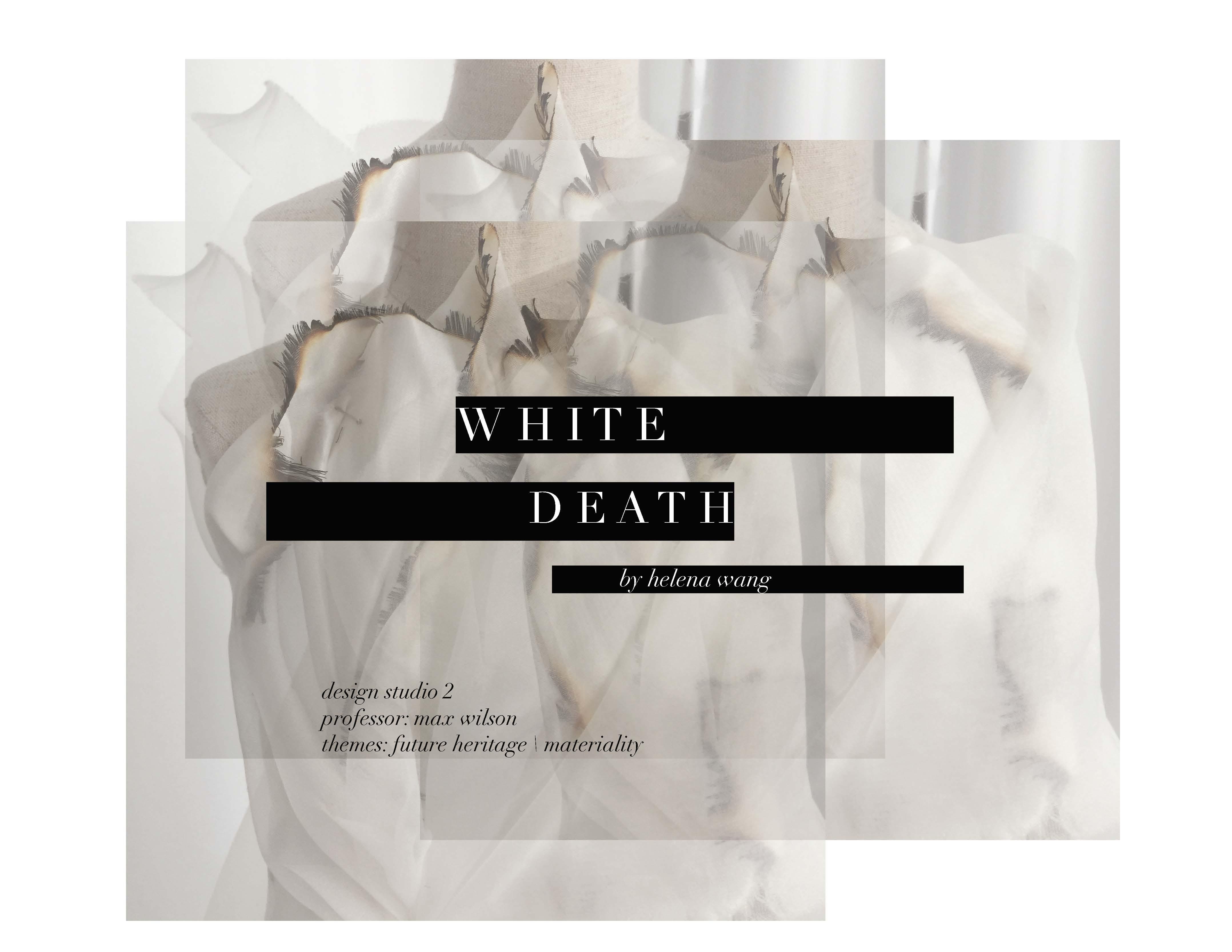 Design Studio 2: White Death Collection