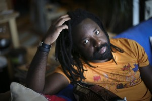 Author Marlon James photographed in his studio apartment on Friday, October 3, 2014 in Minneapolis, Minn. ] RENEE JONES SCHNEIDER • reneejones@startribune.com