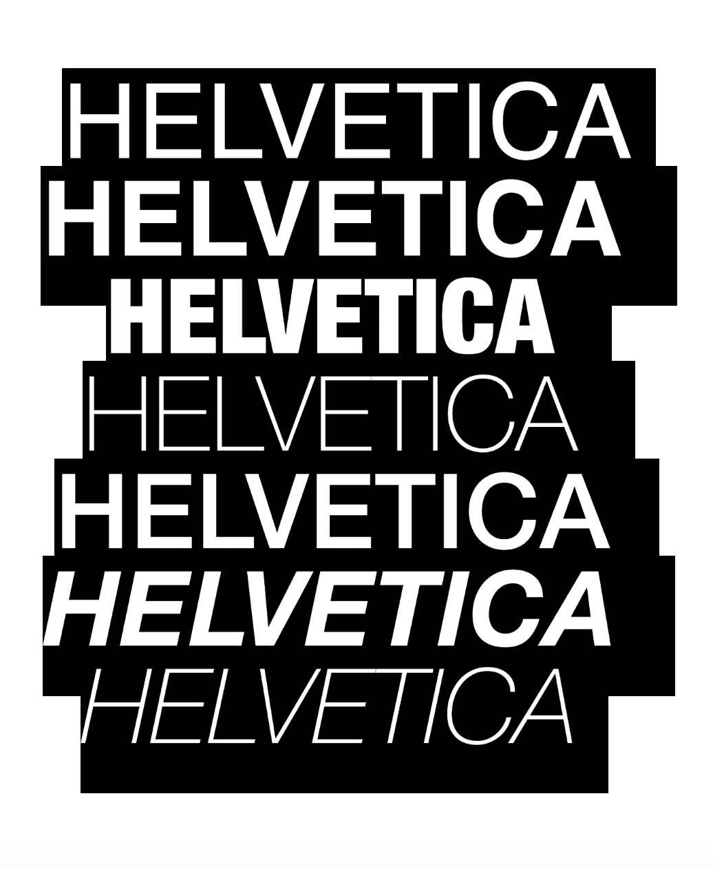 Why Helvetica?