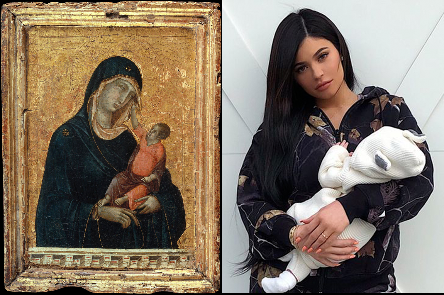 Religion vs. Social Media: From the Virgin Mary to the Vulgar Kylie