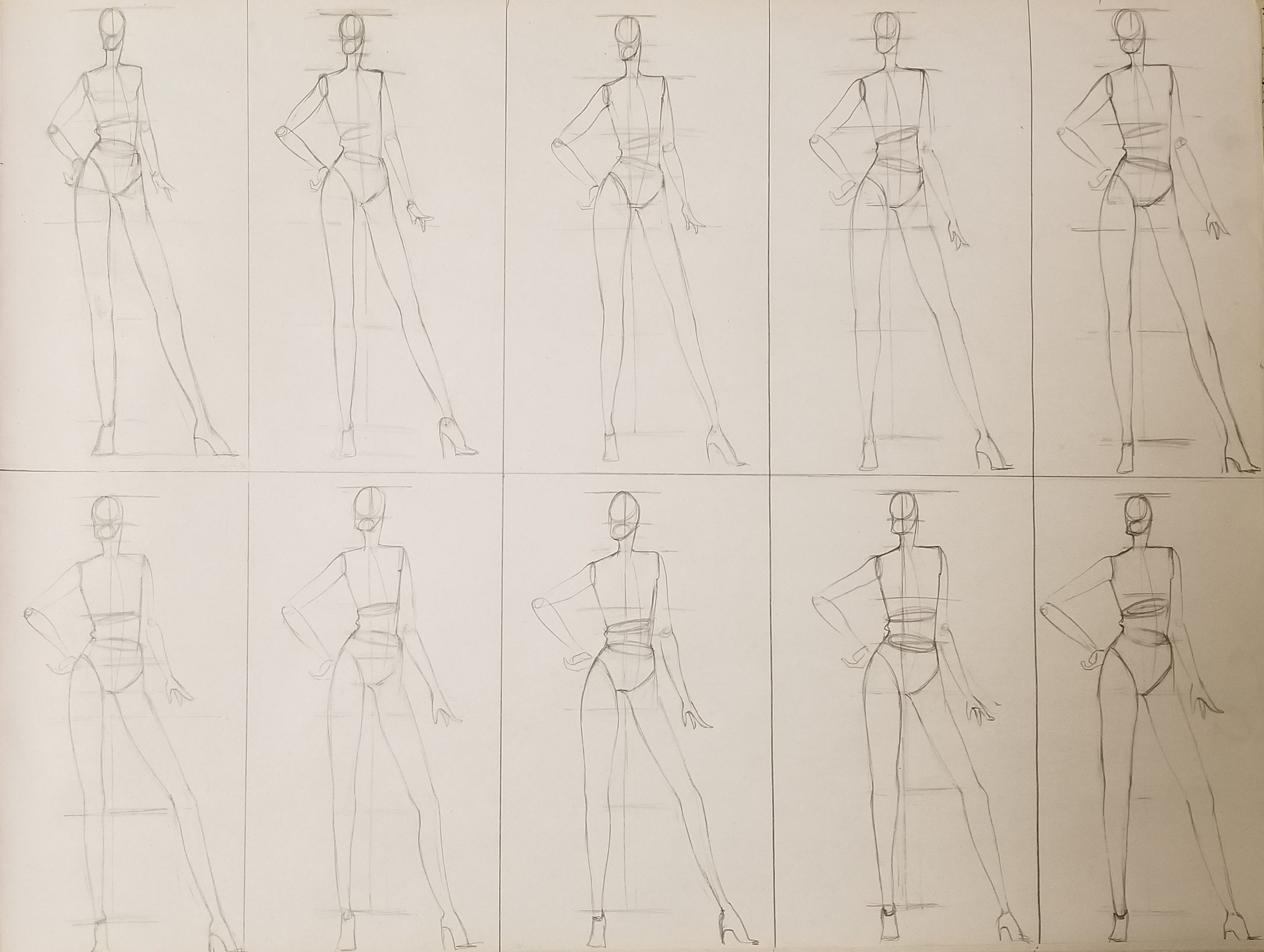 Due 1/30 Drawing: Form & Fashion