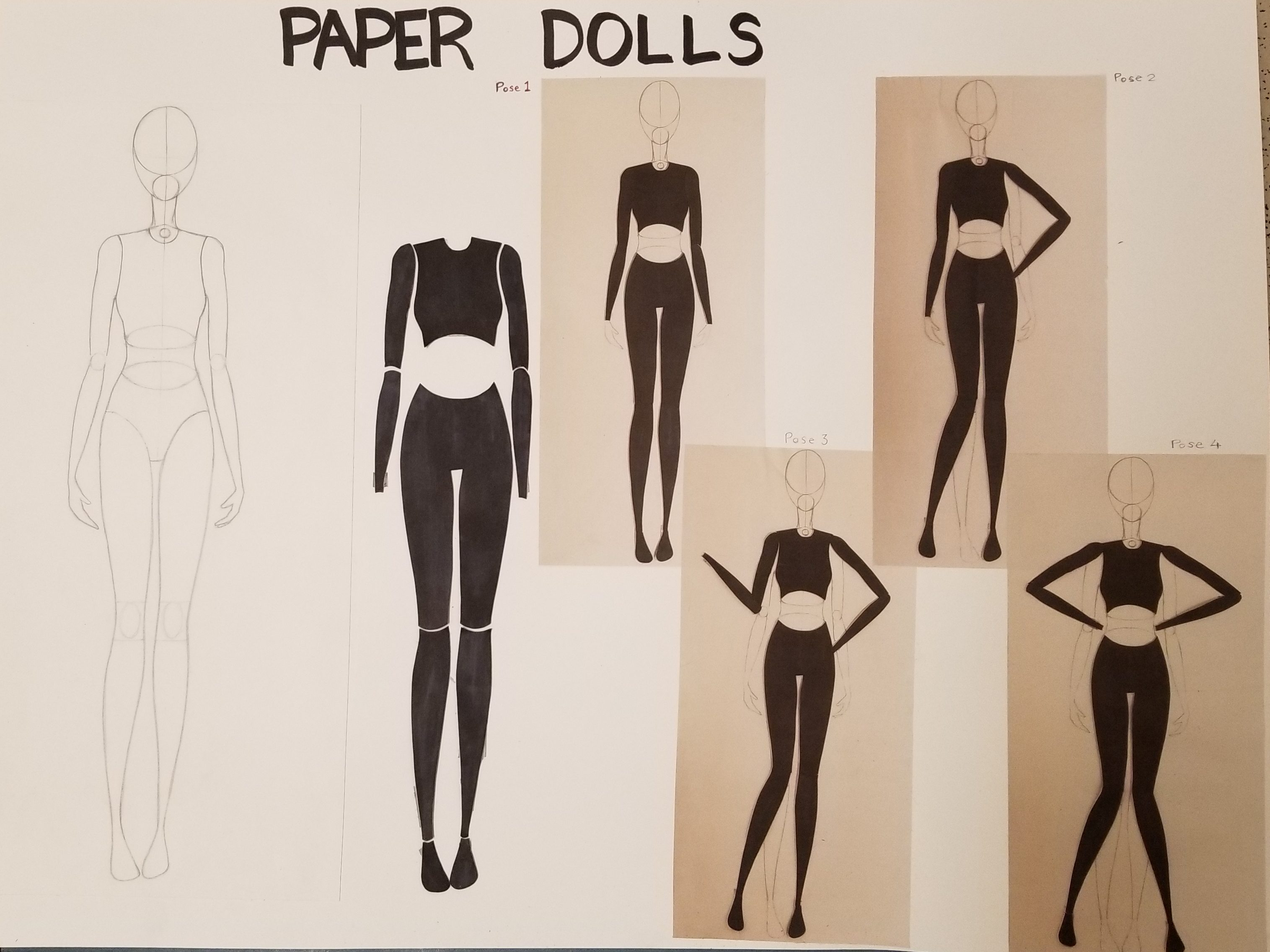 Drawing and Paper Doll Assignment
